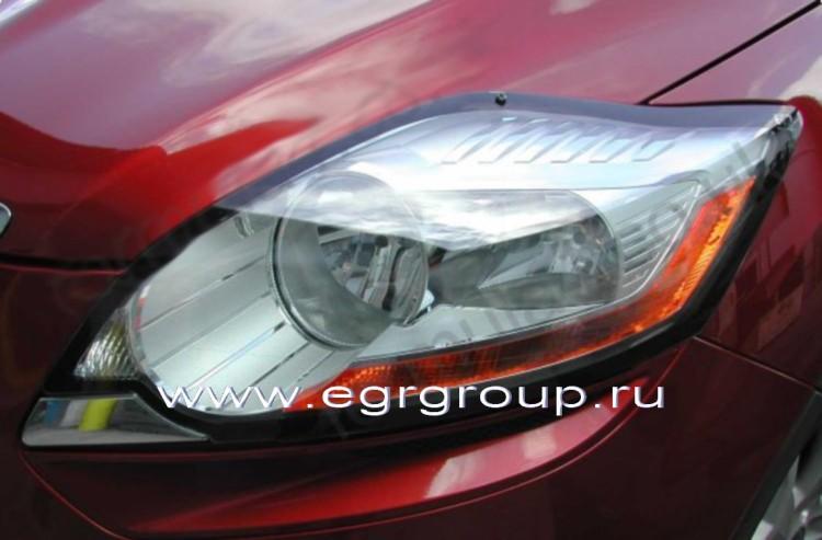 защита фар ford kuga new