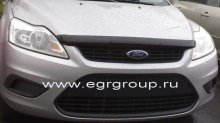 Дефлектор капота Ford Focus 2008-2011 breeze, темный, EGR Австралия